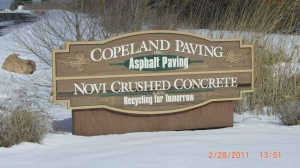 Asphalt Repair Bloomfield MI | Copeland Paving Inc. - CIMG1693