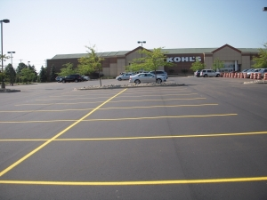 Asphalt Sealcoating Michigan | Copeland Paving Inc. - kohls